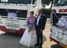 Huwelijk Annemiek & Leo in een gestylde schuur